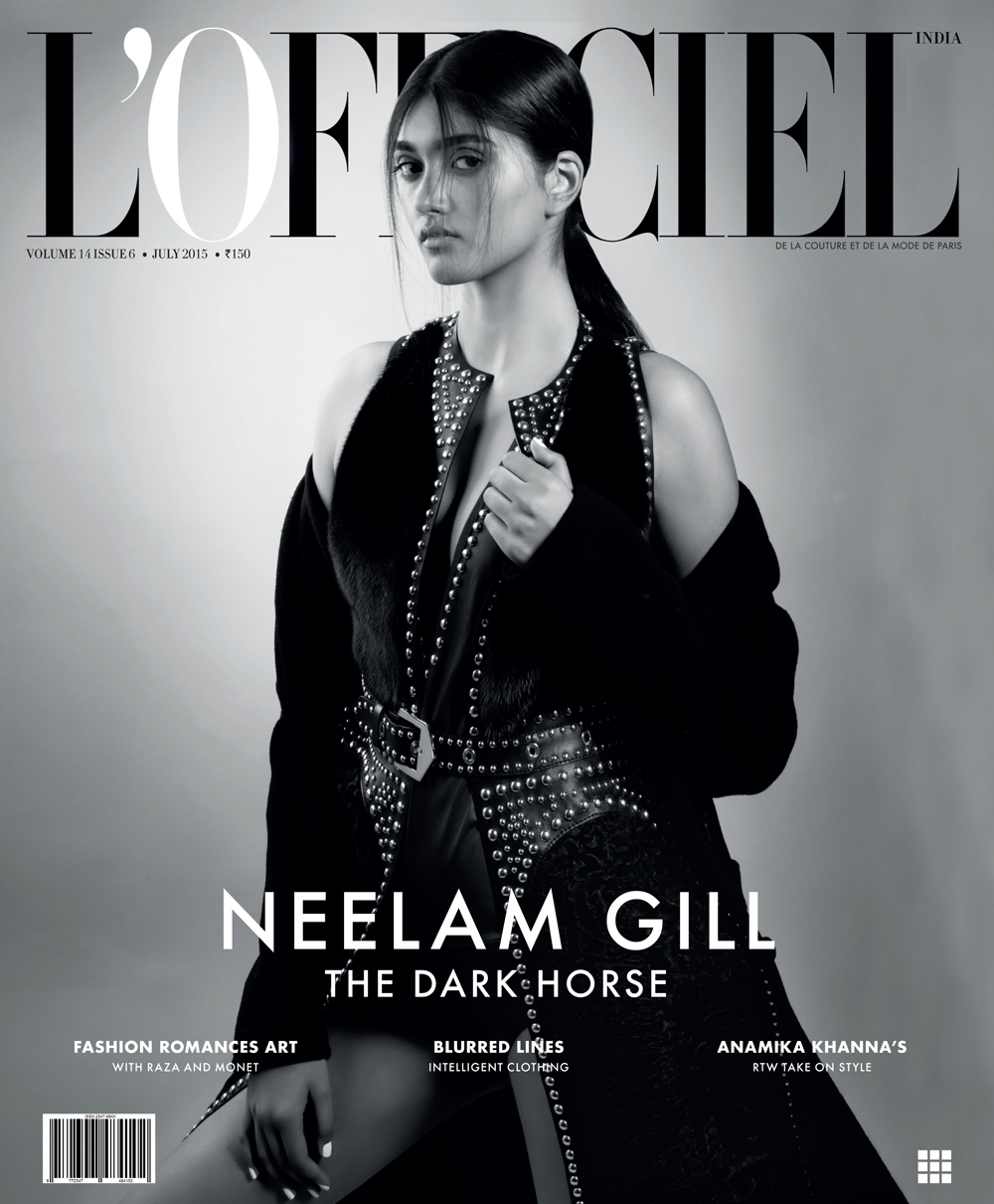 Neelam Gill for L'Officiel India July Issue by Onin Lorente