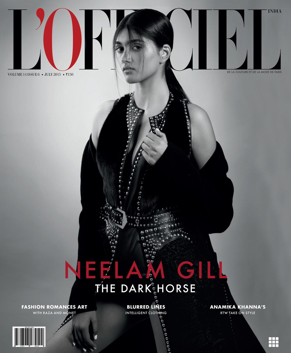 Neelam Gill by Onin Lorente for L'Officiel