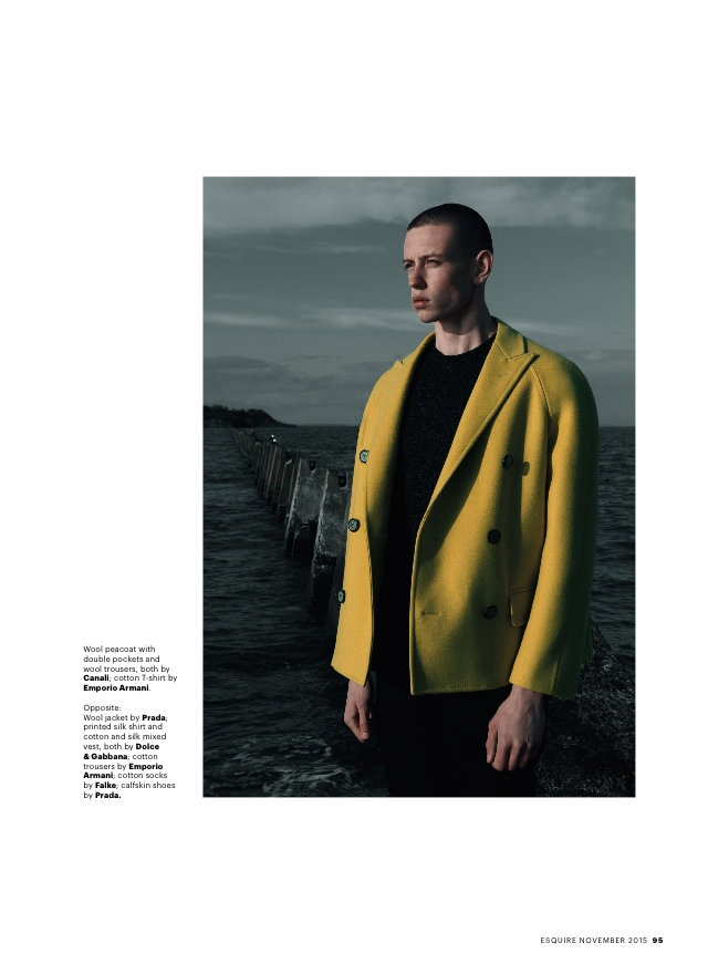 Paul Carrigan in Esquire Singapore by Onin Lorente