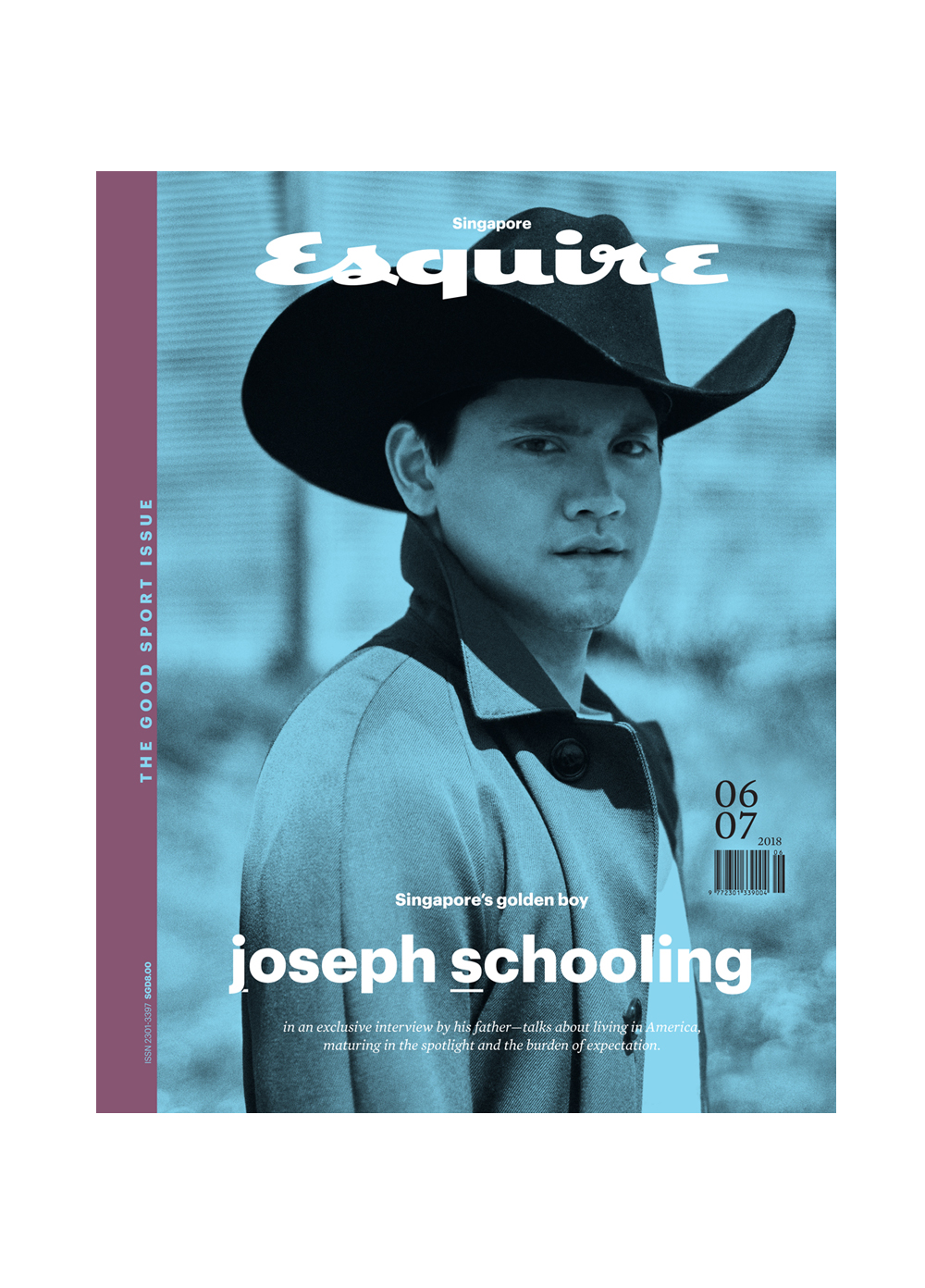 JOSEPH SCHOOLING BY ONIN LORENTE FOR ESQUIRE SINGAPORE
