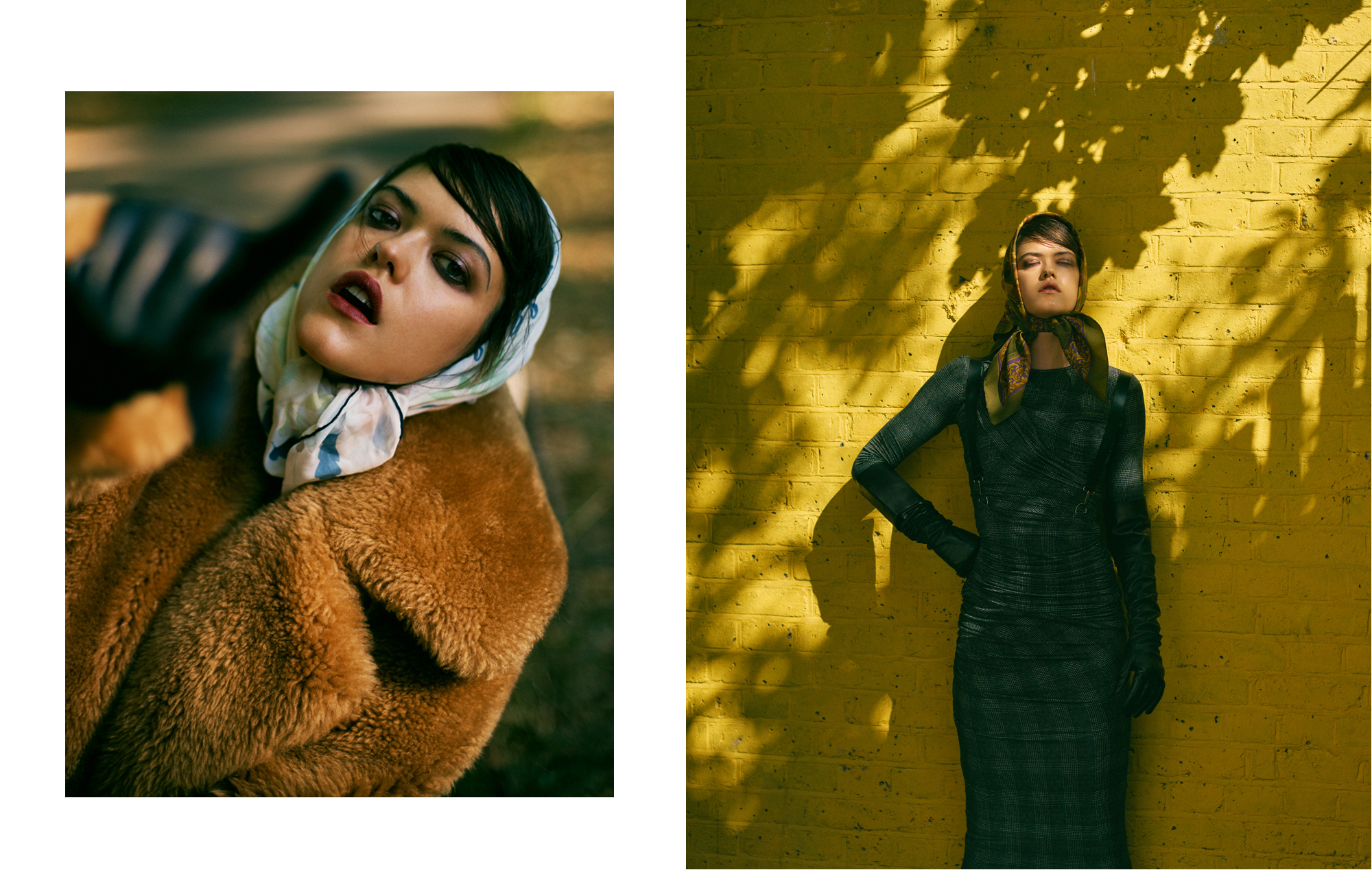Wander in Fall with Anna Nevala for Vogue