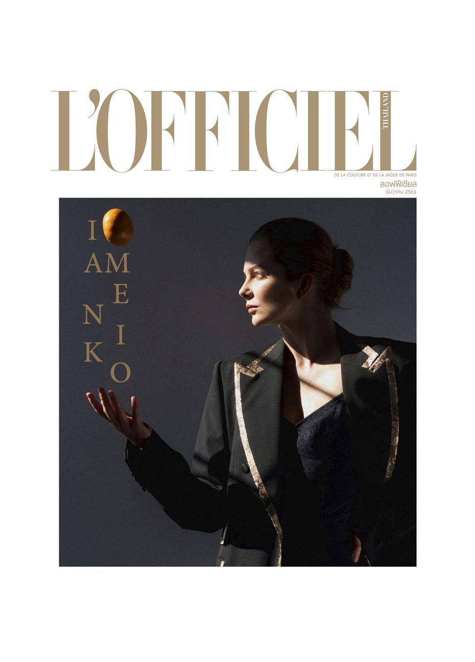 ENIKO MIHALIK BY ONIN LORENTE FOR L'OFFICIEL